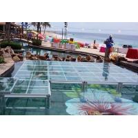 China Clear 4 x 4 Stage Platform , Lightweight Dj Platform Stage Fit Swimming Pool on sale