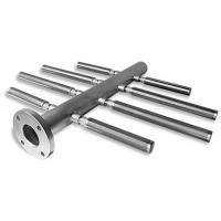 Horizontal Herring Bone Style Wedge Wire Filter / Stainless Steel Distributor With Various Slots