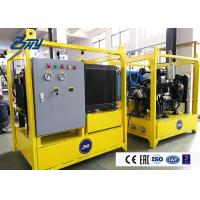 China Power Station Diesel Hydraulic Power Unit Double Oil Passages Function on sale
