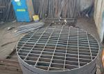 Galvanized Steel Press Lock Welded Grating For Marine Passage Special Shape