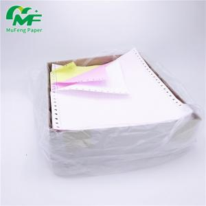 China Eco - Friendly A4 Size Computer Form Paper , Dot Matrix Continuous Feed Paper High Compatibility on sale
