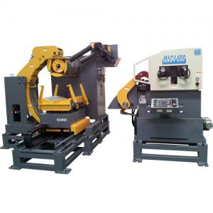 China Metal Plate Feeding Step Stamping Process Automatic Air Feeder , Rod Straightening Machine on sale