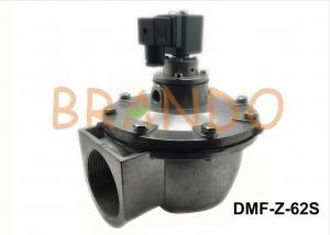 China Deep Green Pneumatic Pulse Valve DMF-Z-62S / NBR Pulse Air Valve IP65 on sale