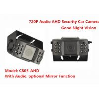 Audio IR 15m Night Vision 720P AHD Vehicle Mounted Cameras Security Car Camera