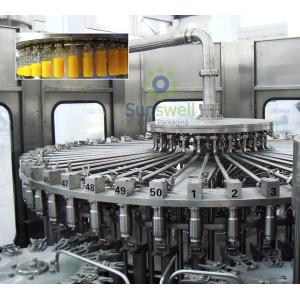 China Pet Bottled Juice Filling Machine Automatic For Apple / Orange Juice Plant on sale