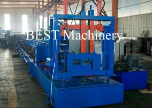 China C75-300 CZ Channel Steel Framing Roll Forming Machine 1.6-3.0mm Thickness on sale
