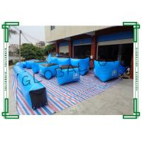 Scratch Proof Inflatable Paintball Bunkers Giant For 5 or 6 Men