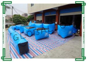 China Scratch Proof Inflatable Paintball Bunkers Giant For 5 or 6 Men on sale