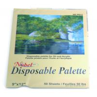 China Square Disposable Palette Acrylic Artist Paint Pad 12 X 16'' / 9 X 12' Size on sale