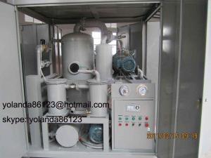China Transformer Oil Purifier/Transformer Oil Purification Equipment/ Transformer Oil Filtration Unit on sale
