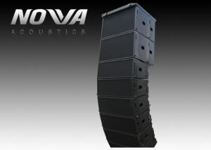 China Double 10 Line Array Column Speaker Pro Audio for Club , 300x800x445mm on sale