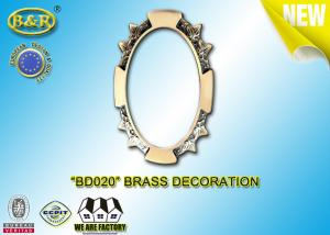 China Ref .BD020 Brass Decoration Metal Tombstone Frame Material Copper Alloy on sale