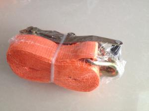China 5 ton breaking force Ratchet Tie Down cargo strap on sale