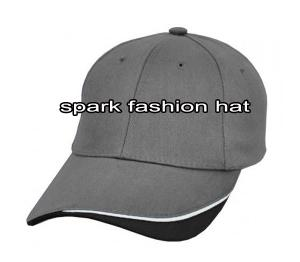Quality Grey plain 6 panel patchwork cap for sale