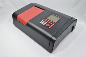 China 190-1100nm Wavelength Visible Spectrophotometer LCD Display Infrared Spectrophotometer on sale