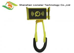 China Colorful Universal Cell Phone Holder Easily Adjust With Hands Free Lazy Bracelet on sale