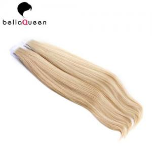 China Brazilian Skin Weft Hair Extension Without Chemical , 613 Straight Hair Extension on sale