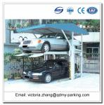 Hot Sale! 2 Vehicles Parking Stackers 2 Post Easy Car Parking Lifts 2-post Parking Lift