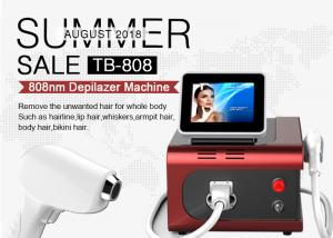 China Permanent Hair Removal 808nm Diode Laser Machine Touch Control 6 Skin Types on sale