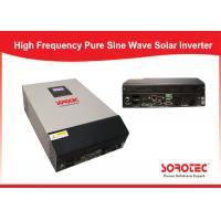Configurable Ac Solar Panel Power Inverter , Grid Tie Solar Inverter Solar Input Priority