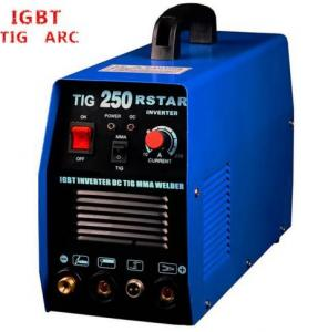 China Blue Color Tungsten Inert Gas Welding Machine , IGBT AC DC Welding Machine on sale