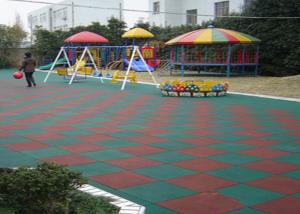 China High Elasticity EPDM Rubber Granules , Colorful Playground Rubber Mats on sale