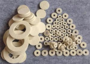 China Wool Felt Gaskets Industrial PTFE Flat Washer Wool Felt Washer Customized Size Oil Seal on sale