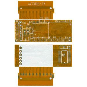China Waterproof Flexible Printed Circuit Board Membrane Switch With 3m Adhesive on sale