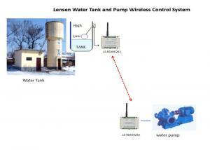 China Lora Wireless Modbus RTU free band Wireless Pump ControlLer Long Range ON-OFF control Plastic Enclosure on sale