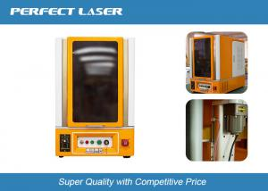China Industrial Fibre Laser Marking Machine With 0.005mm Min Focusing Spot , CE ISO Certificate on sale