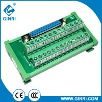 China Ginri termial blcok JR-25TDC miniature output amplifier boards European terminal modules with D-SUB connector on sale
