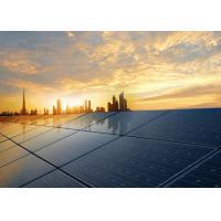 Energy Saving Poly Solar Power Panels Black / Blue Color OEM Avaliable