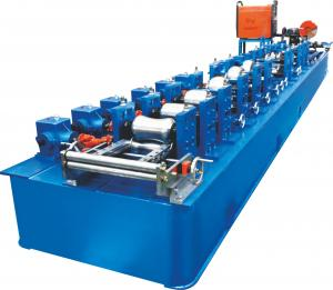 China Trapped Round Steel Pipe Making Machine With Thicnkness 0.8~1.5mm on sale