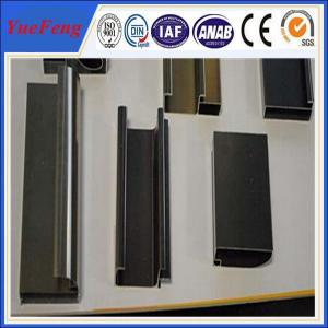 China extruded aluminium structural/steps/roller/curtain rail sliding for vertical blinds on sale
