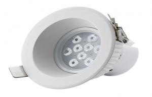 China 10W LED Octopus Downlight With Lextar 3030chips , Magnesium Alloy body on sale