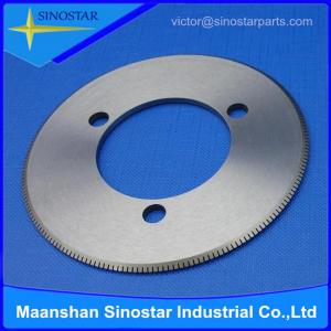 China paper industry slitter blade on sale