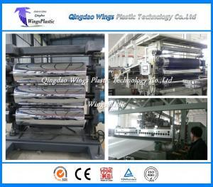 China 1000mm Width Plastic Sheet Machine , Plastic Sheet Extrusion Machine on sale