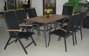China Muebles ajustables de la teca (17425) on sale