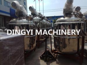 China Bottom Magnetic Heated Pharmaceutical Mixing Tank?Large Volume High Shear Agitator on sale