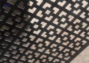 China Customized Decorative Perforated Sheet Metal Panels For Walls And Partitions on sale