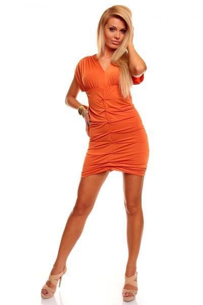 Wholesale Hot Sale Kleid Last Girl Orange Sexy Clubwear LR5201-1 ...