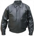 China leather men jacket wholesale