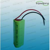 China 5/4AAA NiMh Rechargeable Battery Pack 900mAh 3.6V for Portable Audio Devices on sale