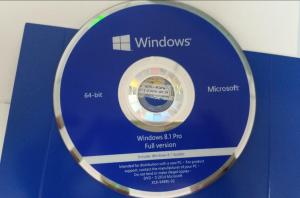 China Windows 8.1 Operating System Software OEM DVD Activation By Computer on sale