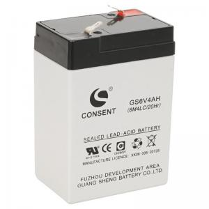 China batterie de 6v 4ah, 6 batterie au plomb rechargeable de volt 4ah on sale