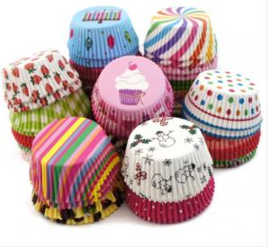China glassine Paper Cupcake liners wholesale on sale