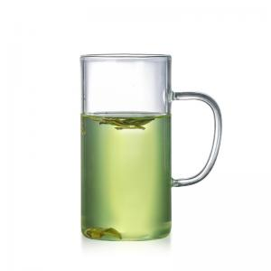 China Lightweight Glass Coffee Travel Mugs , Clear Eco Friendly Reusable Coffee Cups on sale