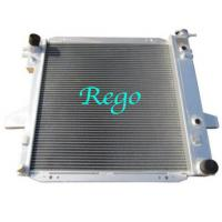 China Custom Built Welding Aluminum Street Rod Radiators 2 Core / 3 Core / 4 Core on sale