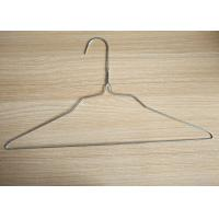 """Laundry Galvanized Wire Hangers Low Carbon Steel Wire Material 16"""" Size 22cm Height"""