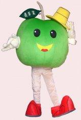 Quality handmade adult cartoon apple mascot cosplay fruit costumes for sale